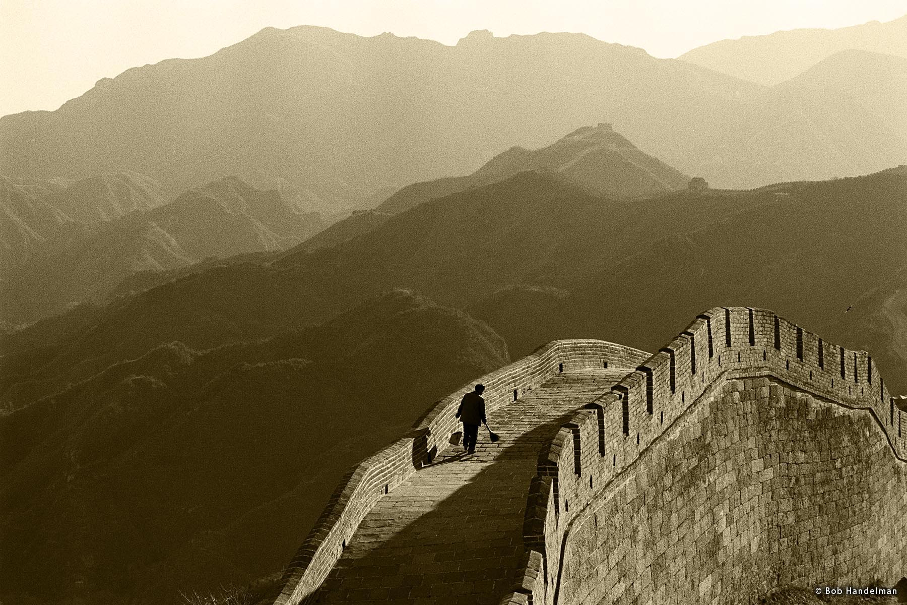 Great Wall of China near Badaling