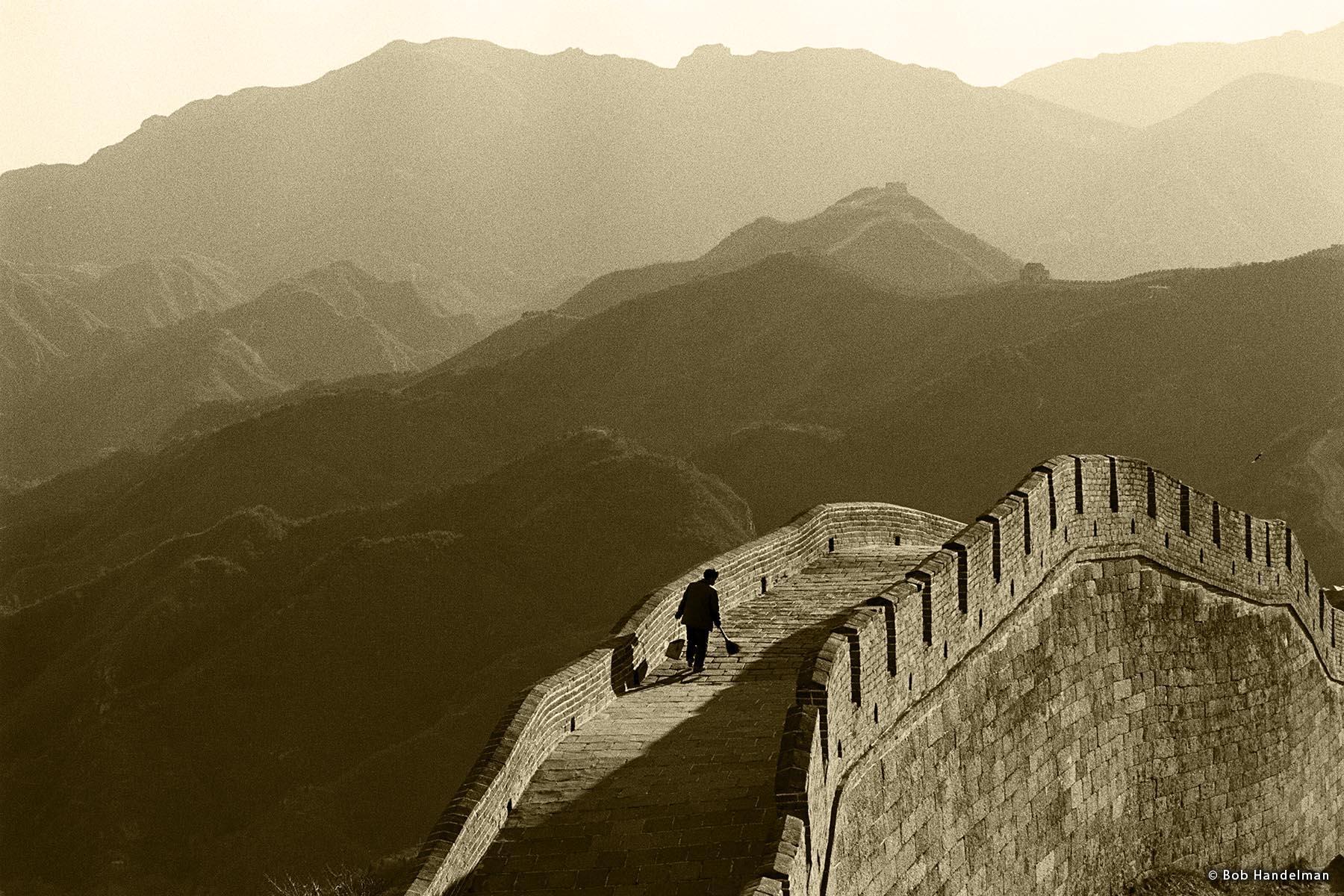 Great Wall of China near Badaling